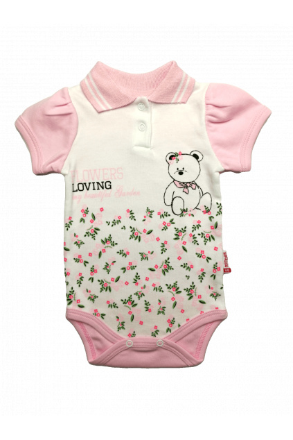 dívčí kojenecké body