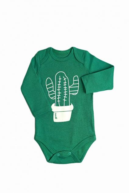 kojenecke body zelene