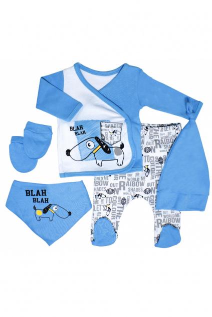 sada kojeneckého oblečení nejen do porodnice Pejsek