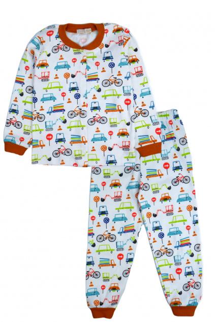 Dětské pyžamo Doprava
