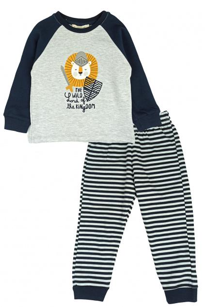 Dětské pyžamo The Wild modrá
