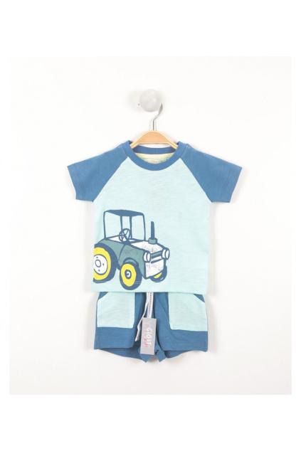 61274 Chlapecký letní set tričko a šortky