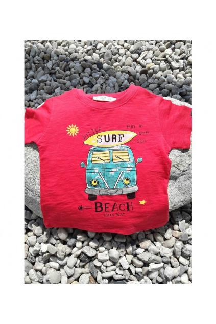 Chlapecké tričko s potiskem autobus 3