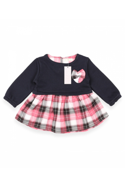 Tartanové dívčí šaty