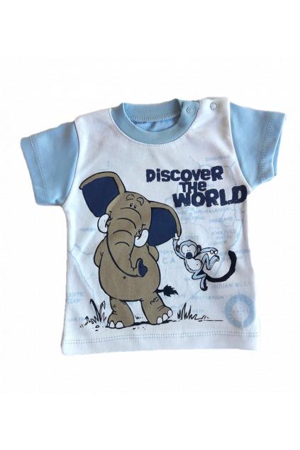 Chlapecké tričko slon s krátkým rukávem1