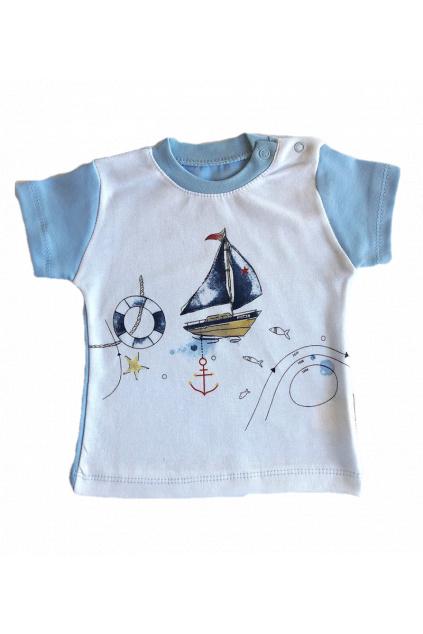 Chlapecké tričko s krátkým rukávem lod1