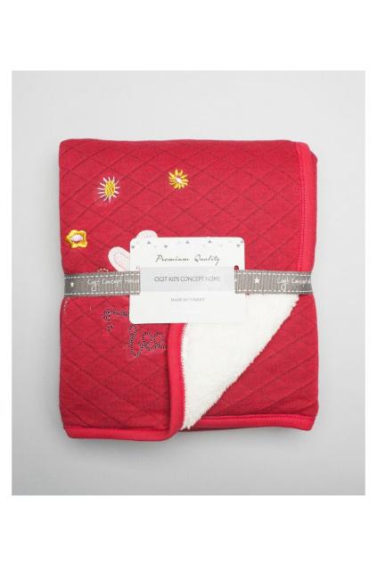 100027 6 příjemné hřejivá deka pro holčičky