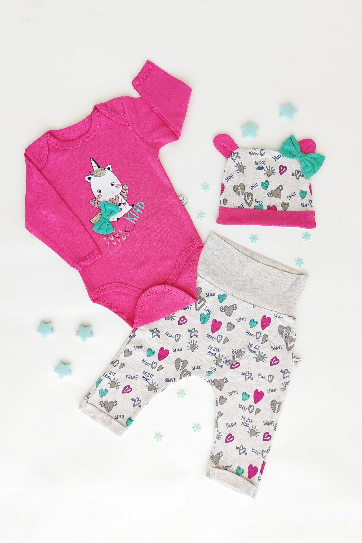 TrendUpcz Dětský kojenecký set Unicorn Velikost: 74