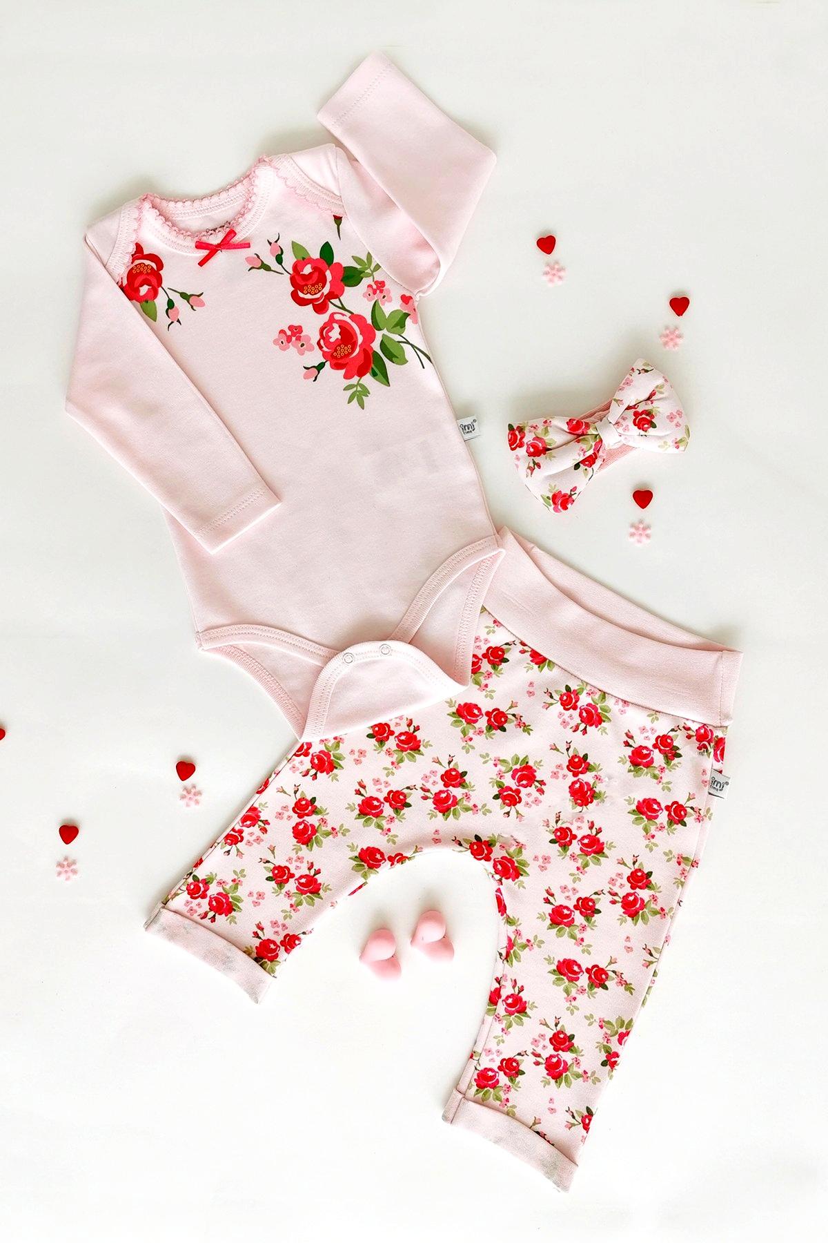 TrendUpcz Dětský kojenecký set Rose Velikost: 68
