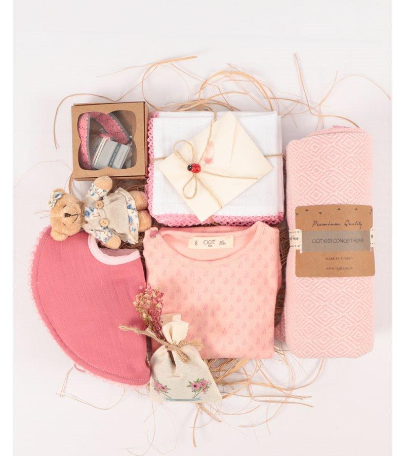 Cigit Concept Premium Cigit Premium růžový dárkový set pro holčičky
