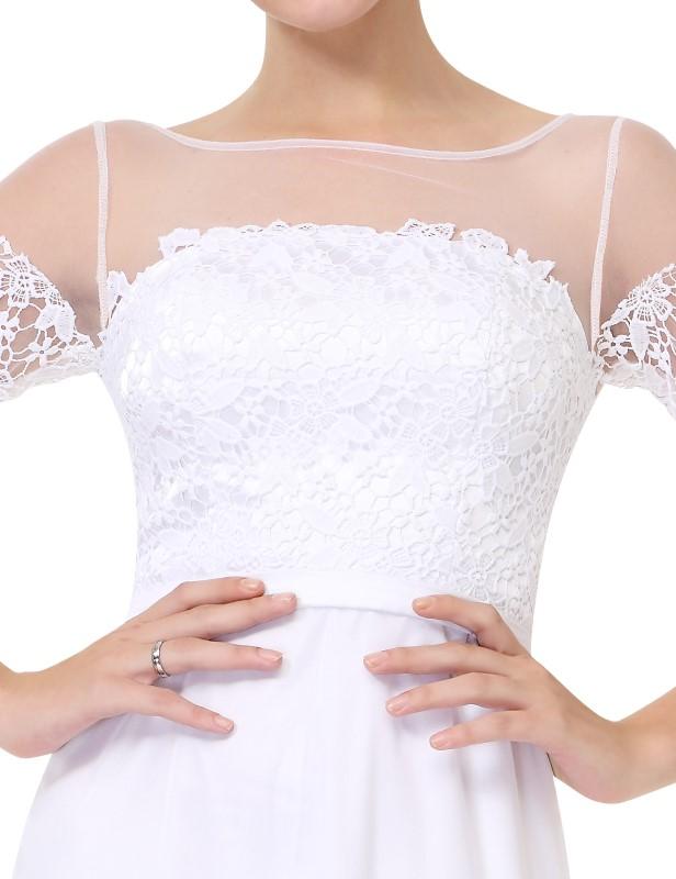 Svatební levné šaty, šaty na věneček