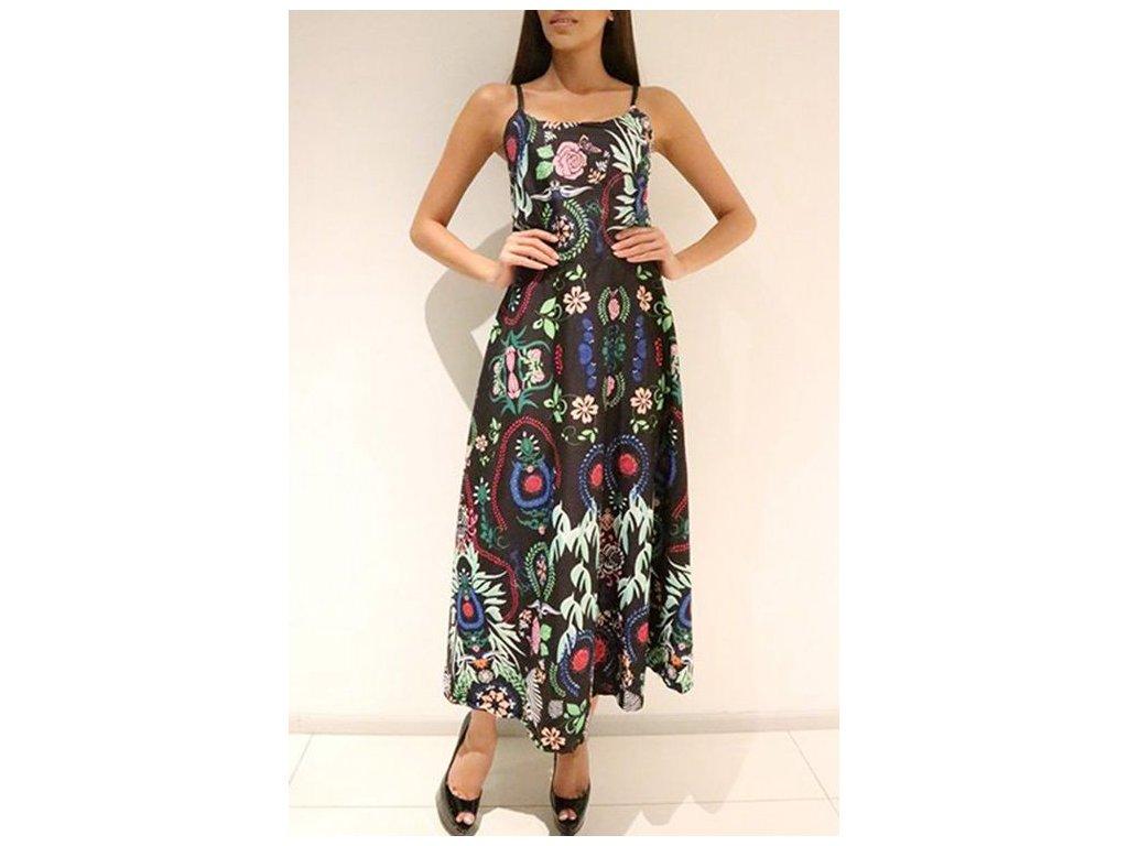 Negozio online di sconto Spaghetti Strap Printed African Dress Maxi 1618 9f13c4be90