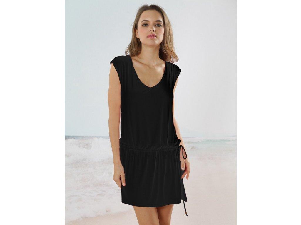 A Plážové šaty černé OH116