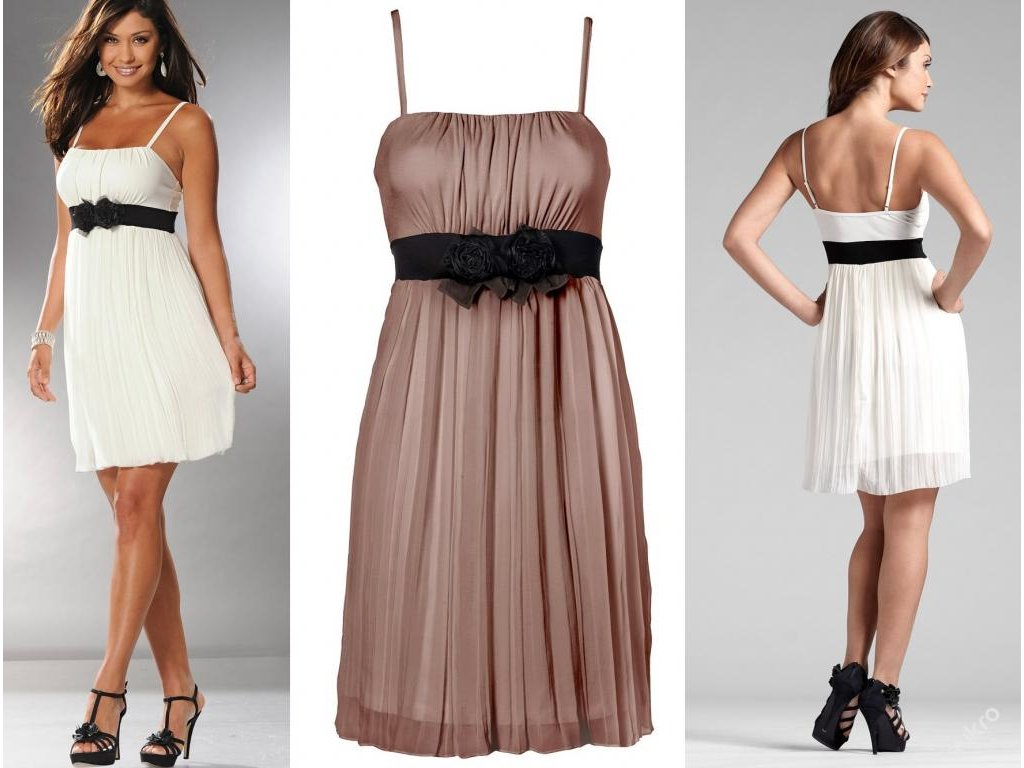A Krátké dámské růžové šaty 5211