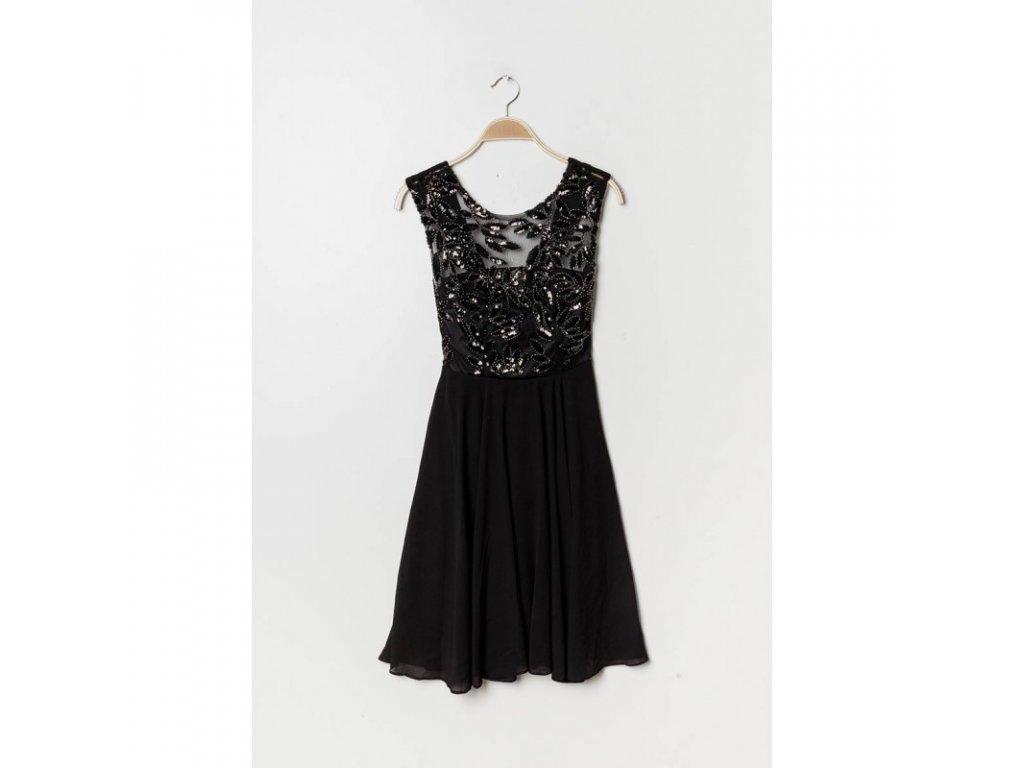 Eva   Lola Dámské černé šaty krátké 1298 Lucy - trendy-obleceni.cz b0a7893df9