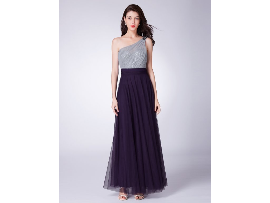 Dámské plesové šaty Ever Pretty fialové 7404 - trendy-obleceni.cz e7b1b481a4