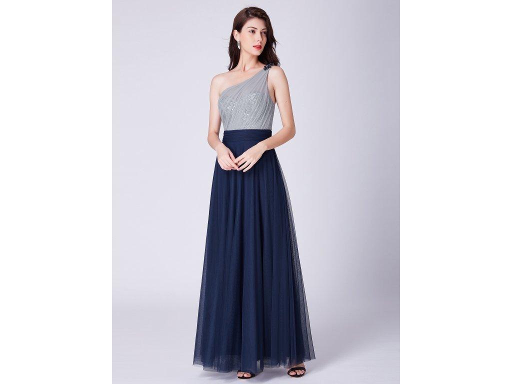 aa0a1ff492f Dámské plesové šaty Ever Pretty modré 7404 - trendy-obleceni.cz