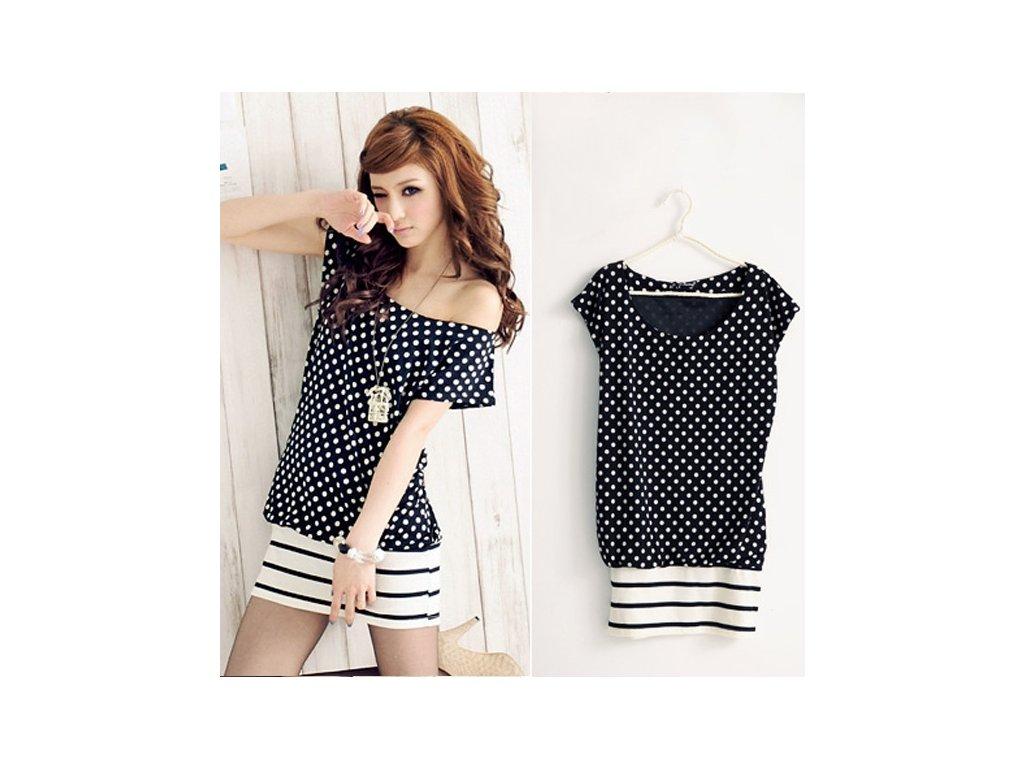 A Trendy tunika či minišaty korejská moda