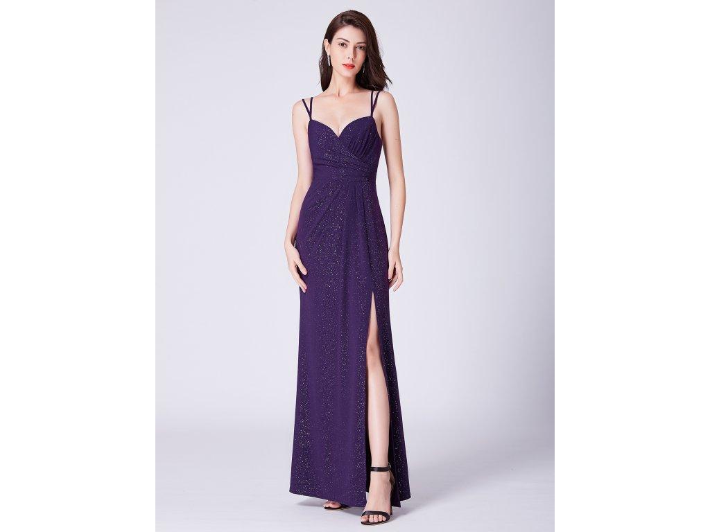 Fialové dlouhé šaty Ever Pretty 7429 - trendy-obleceni.cz d24ae34891