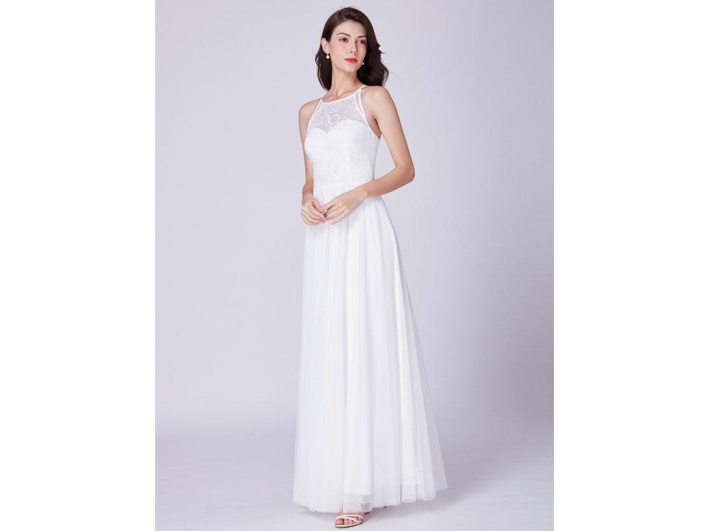 eabfdb116df Ever Pretty úchvatné bílé šaty 7514 - trendy-obleceni.cz