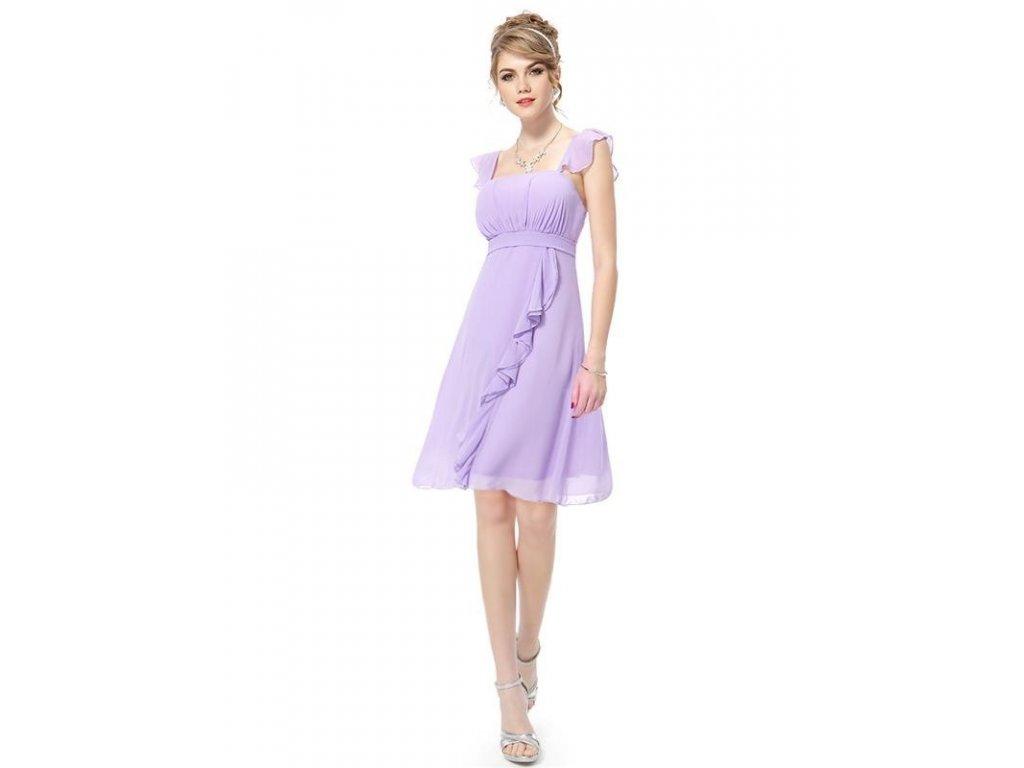 Ever Pretty šaty do tanečních, plesové fialkové 3337