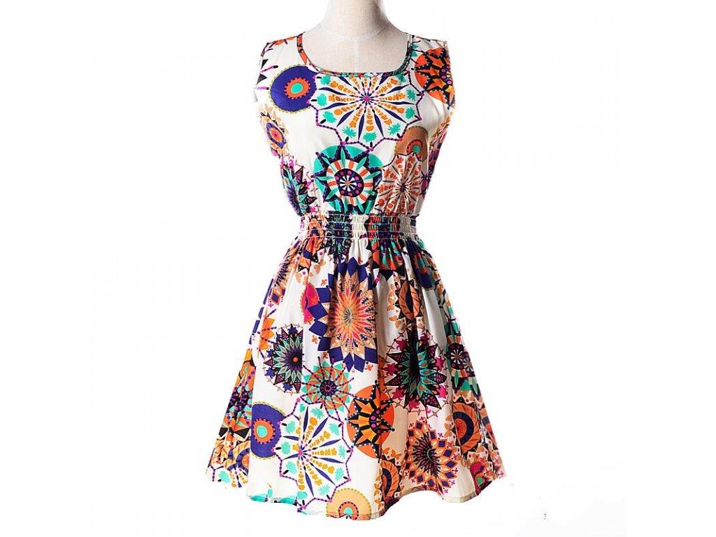 A Letní krátké šaty nevšední vzory 7
