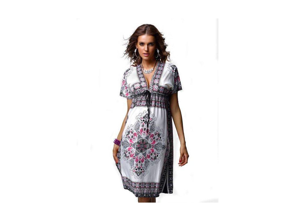 A Letní šaty, plážové se vzory DL1111