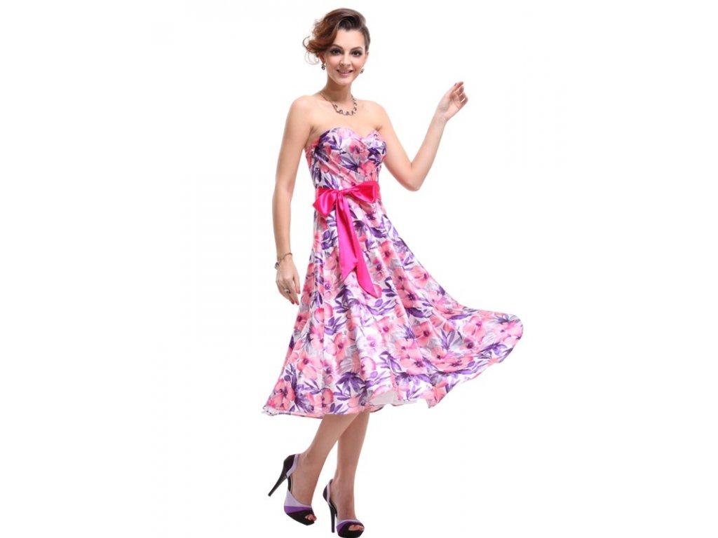 Ever Pretty šaty letní květinové 6089