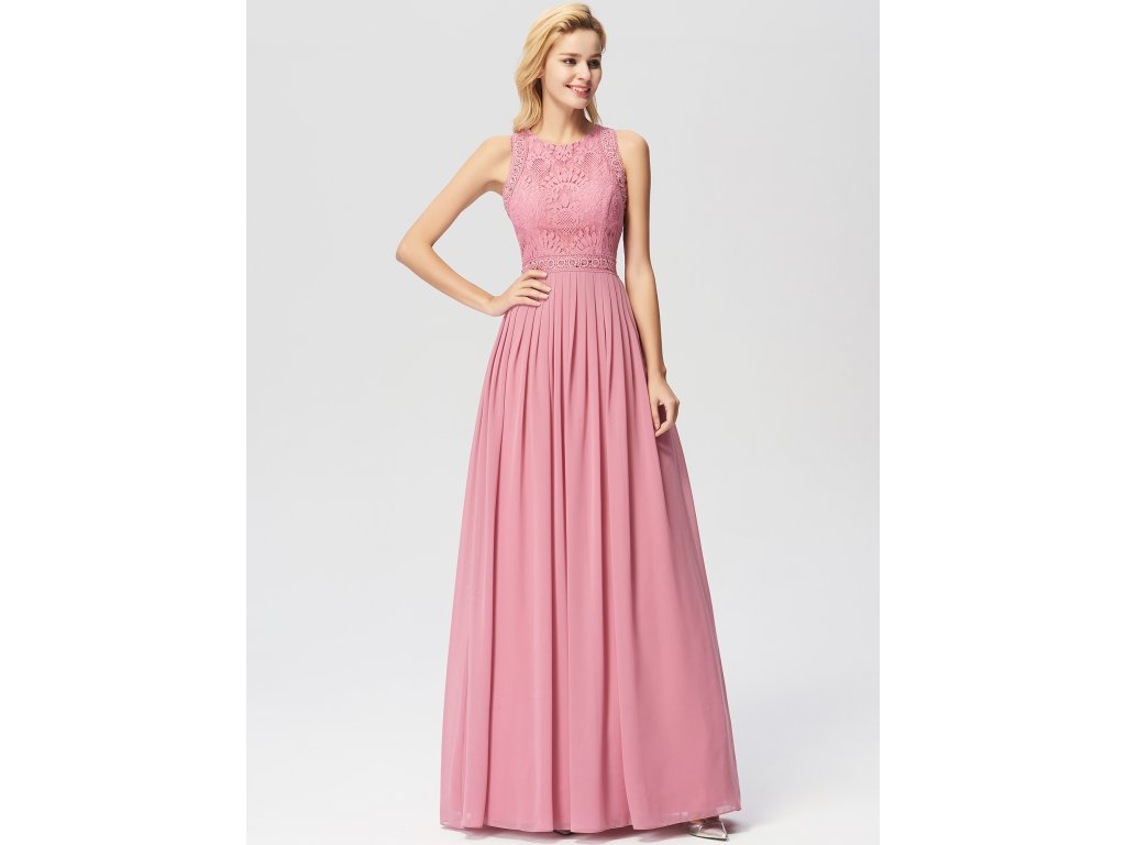 Dámské elegantní plesové šaty Ever Pretty růžové 7391 - trendy ... 7f3b9903f8