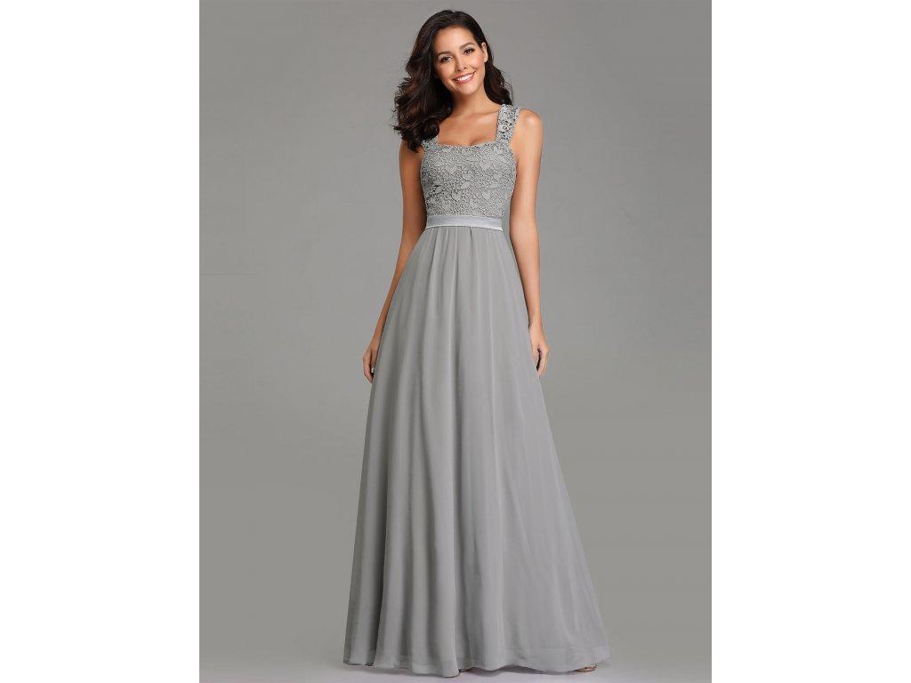 621fbea858d Dámské luxusní šedé šaty Ever Pretty 7704 - trendy-obleceni.cz