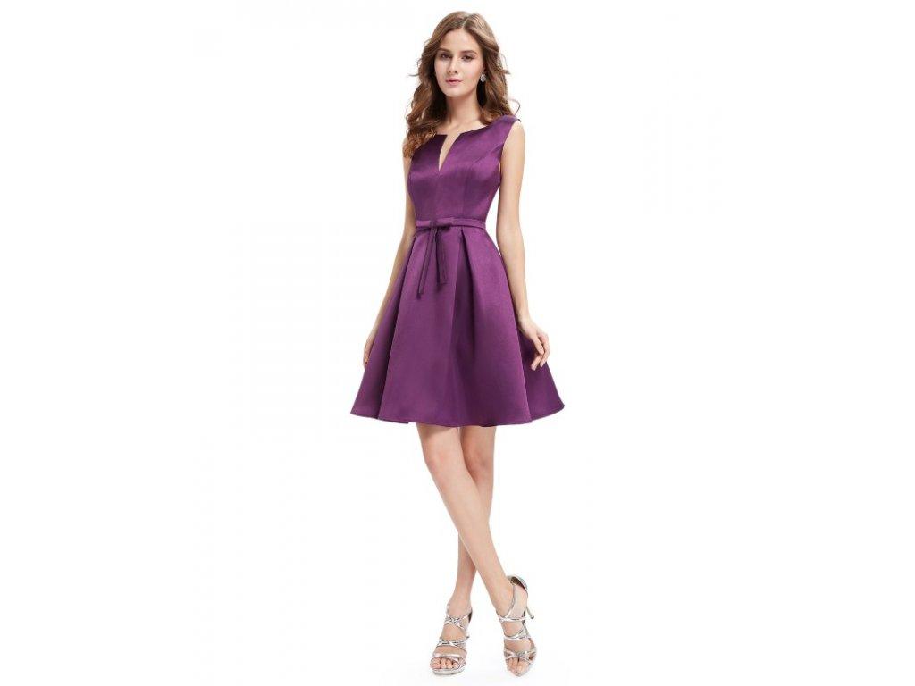 Šaty do tanečních či plesy fialové Ever Pretty 5396