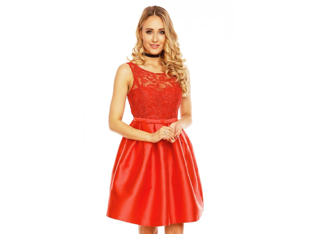 dress charms m 8178 red l