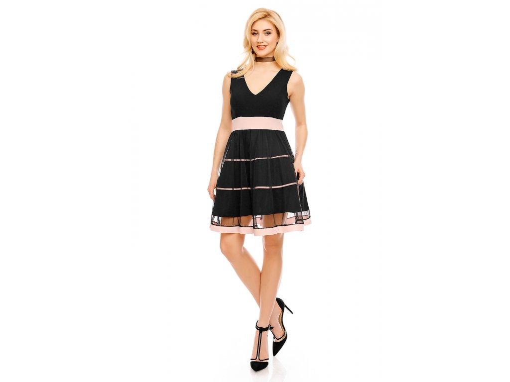 dress blu royal 72231 black l