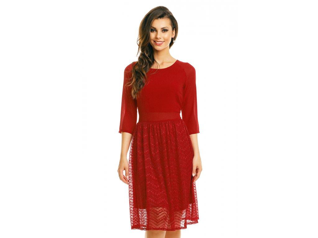 dress mayaadi hs 359 bordeaux l