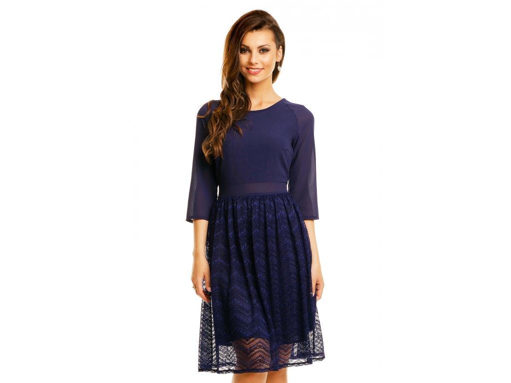 dress mayaadi hs 359 dark blue l