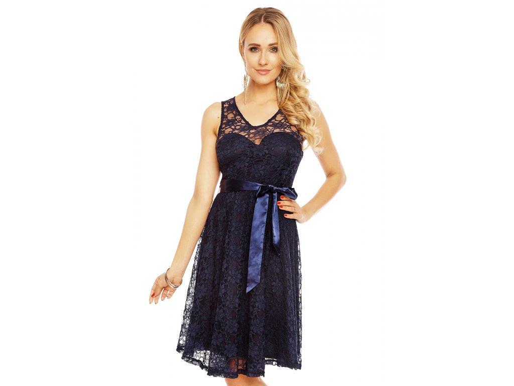 dress mayaadi hs 390 dark blue l