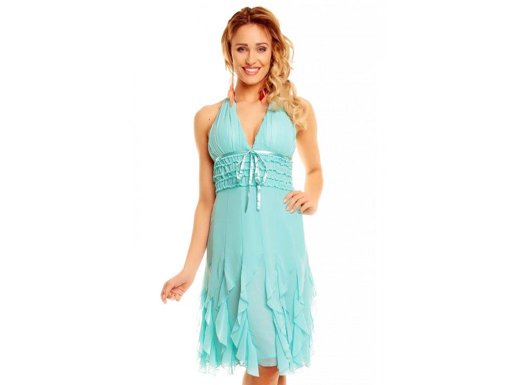 dress mayaadi hs 310a aqua l