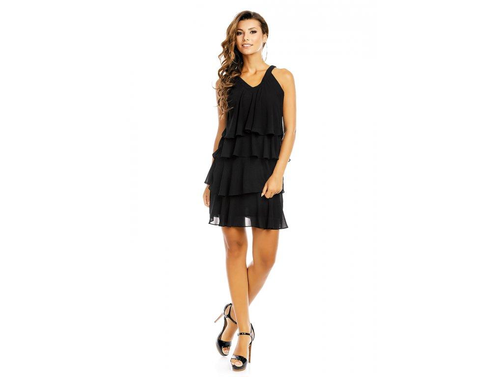 dress mayaadi hs 372 black l