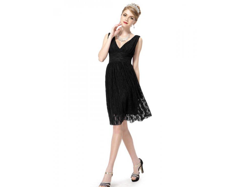 Ever Pretty šaty do tanečních, plesové černé 3409