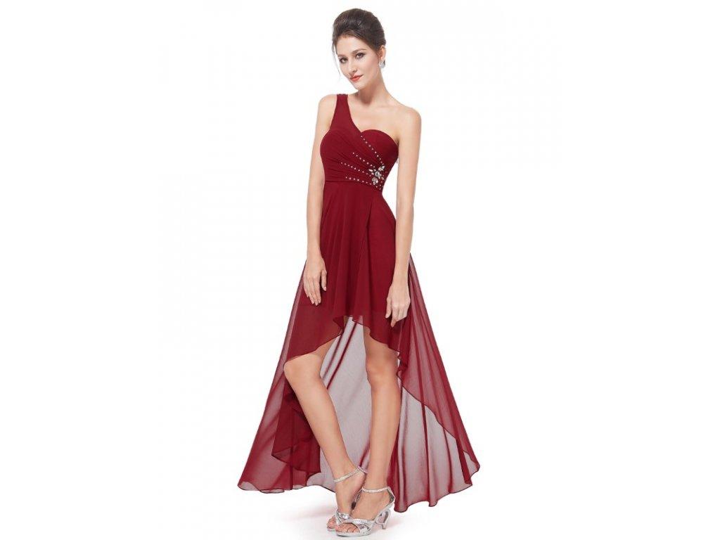 Ever Pretty šaty do tanečních, plesové bordo 8100