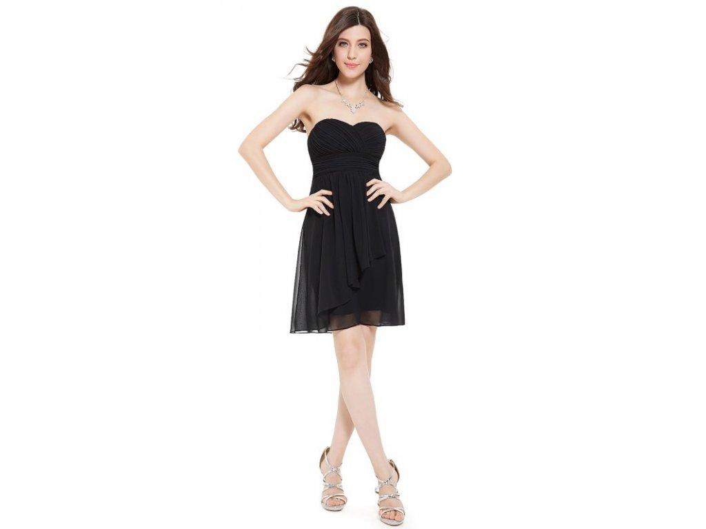 Ever Pretty letní šaty krátké černé 3540