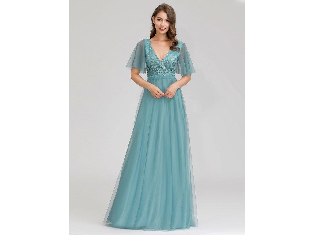 Ever Pretty luxusní šaty s výšivkou