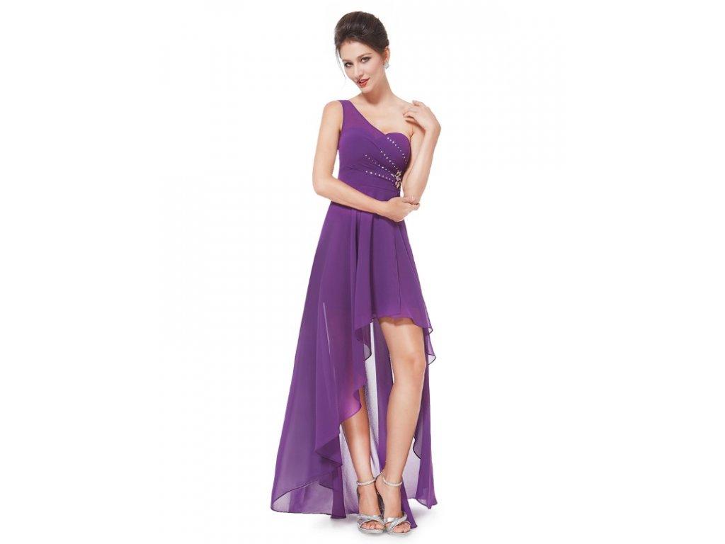 Ever Pretty šaty do tanečních, plesové fialové 8100
