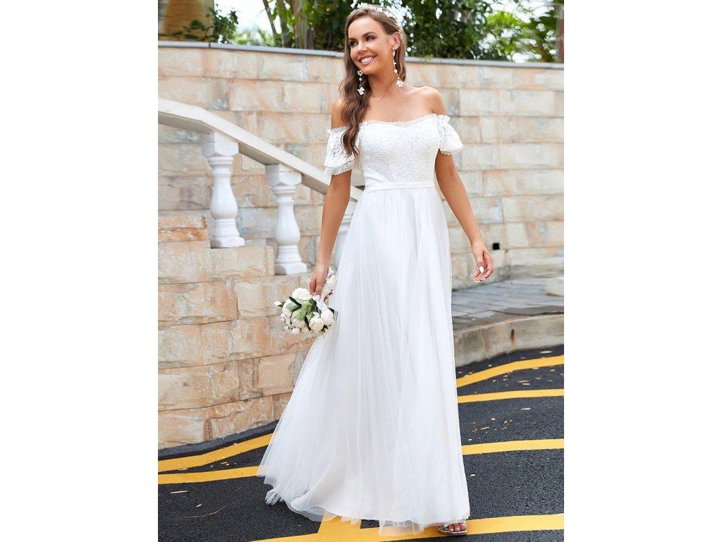 EH90317CR jemné šaty svatební 2021