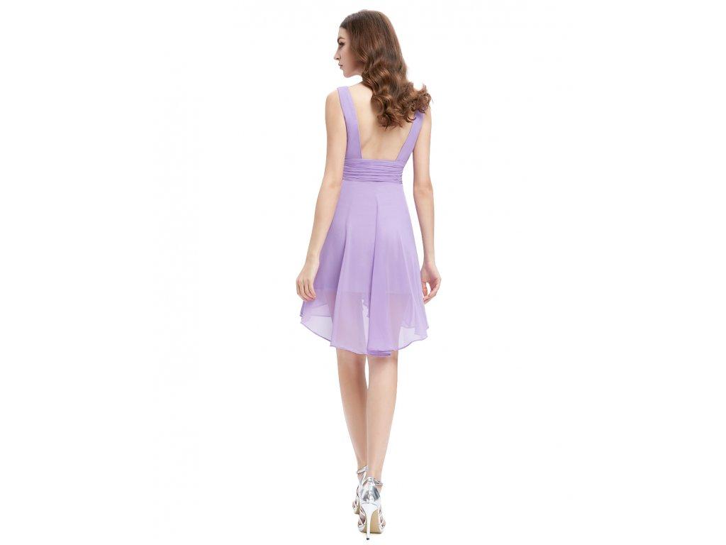 f980920d9 Ever Pretty šifonové šaty krátké fialové 3644 - trendy-obleceni.cz