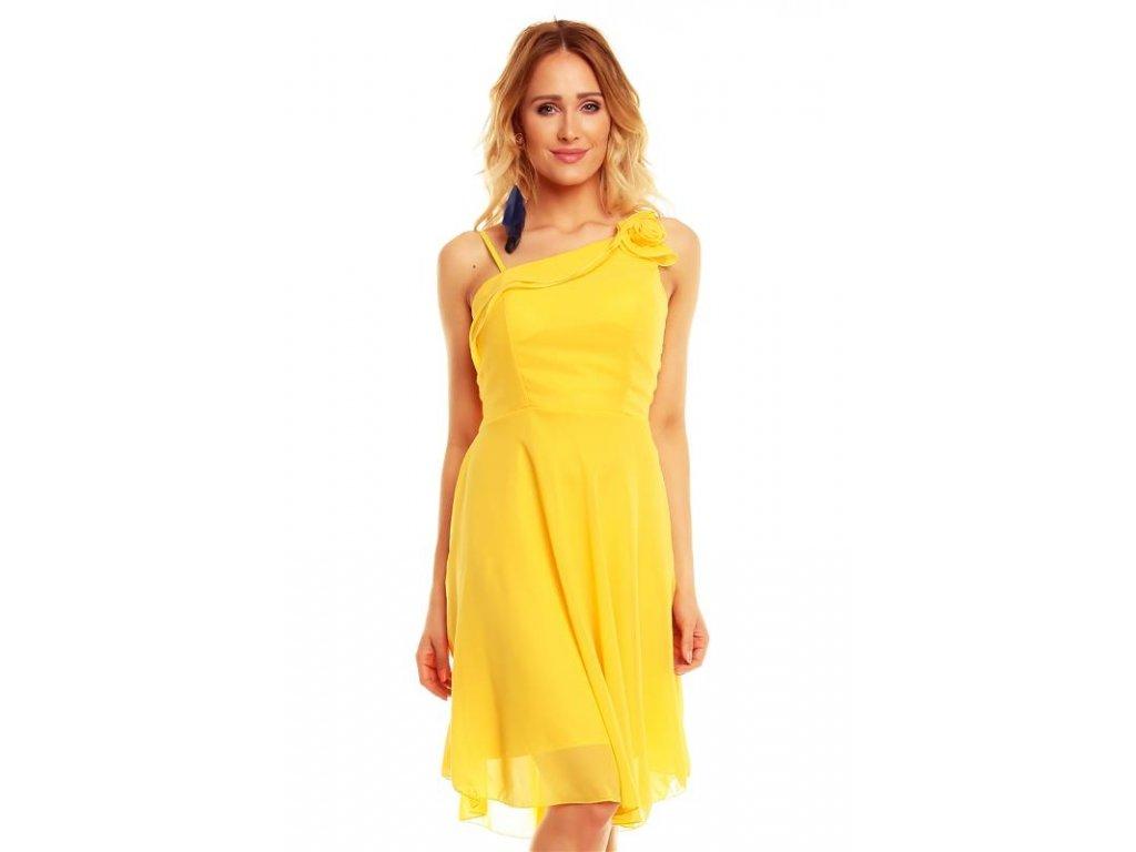 A Šaty do tanečních žluté HS516