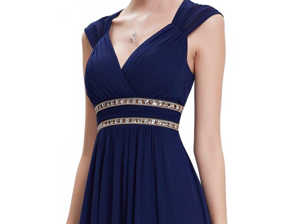 ... Ever Pretty šaty dlouhé elegantní tmavě modré 8697 (Velikost 3XL   48    16 ... 1406624d89