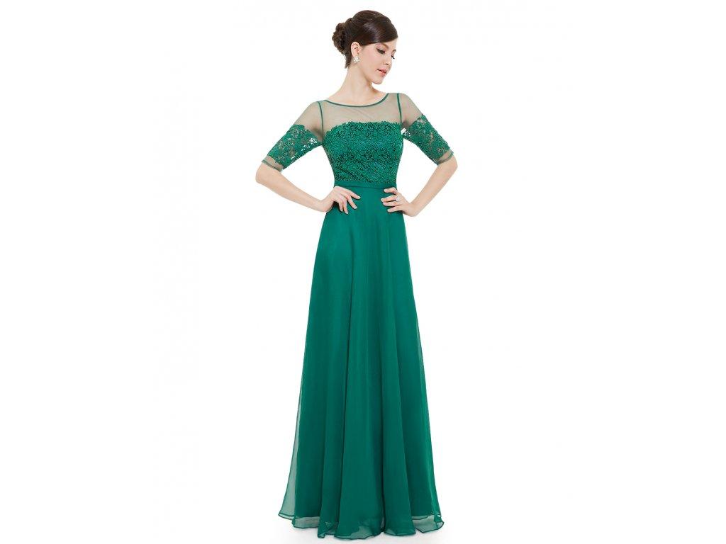 ... Elegantní Ever Pretty plesové šaty zelené 8459 (Velikost 3XL   48   16    20 e44e40cd61
