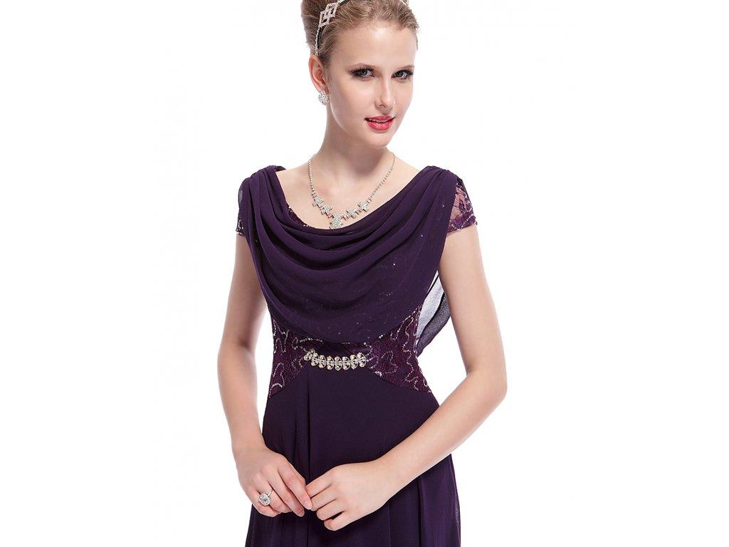 ... Dámské elegantní Ever Pretty plesové šaty fialové 9989 (Velikost 3XL    48   16 ... f0678f9e7c9