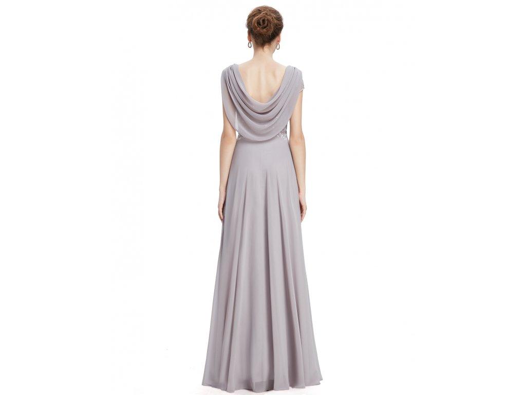 9b3ecdffd9c7 ... Dámské elegantní Ever Pretty plesové šaty šedé 9989 (Velikost 3XL   48    16